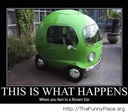 Farting in Smart Cars