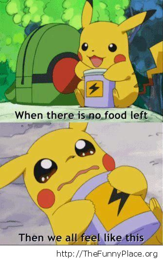 Funny hungry pokemon