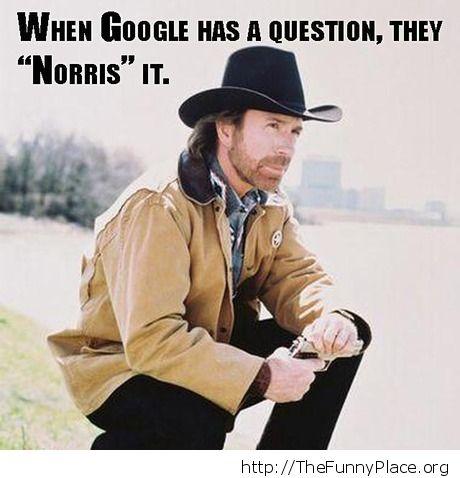 Google ask Norris