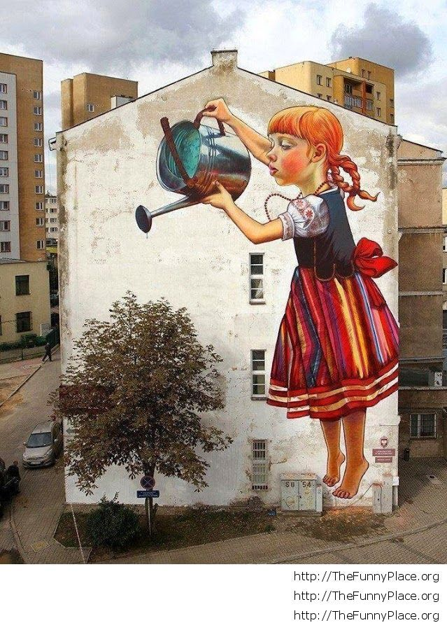Graffiti in Poland