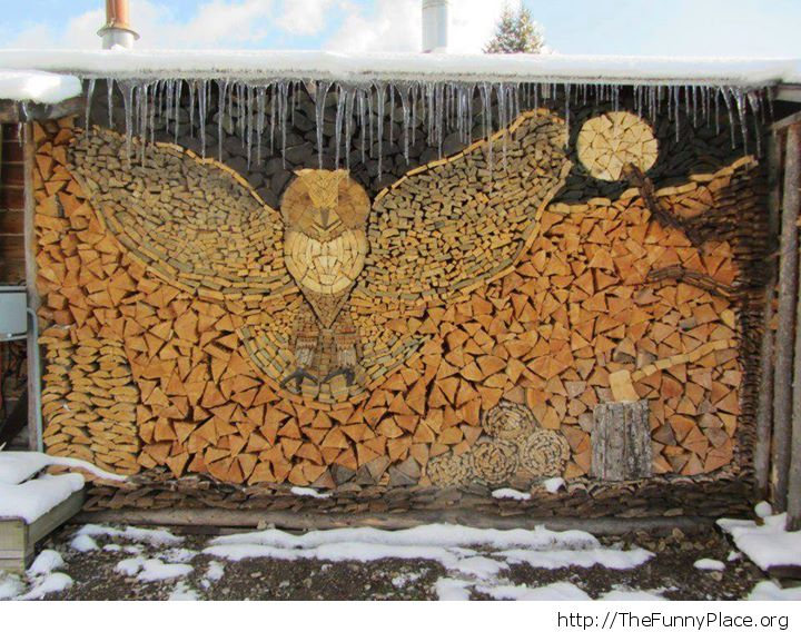 Great wood art