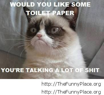 Grumpy Cat - Toilet paper