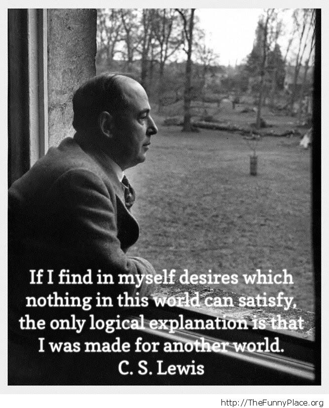 Made for another world CS Lewis