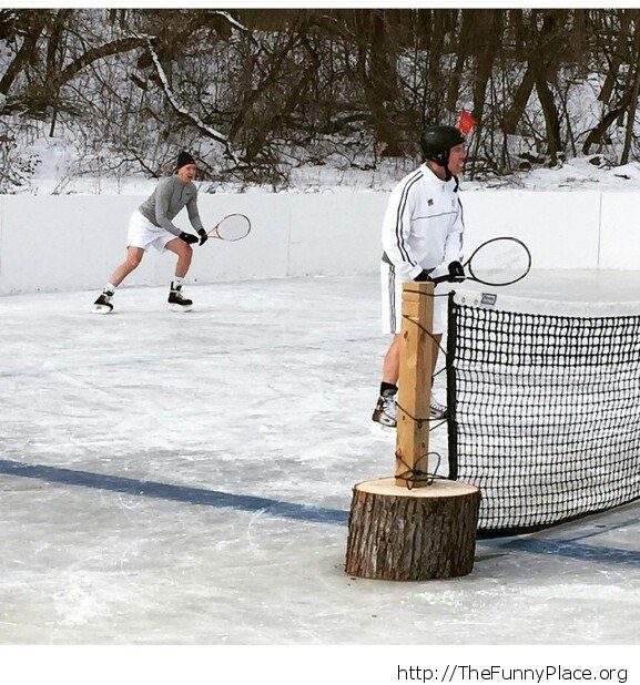 Playing tennis in Minnesota