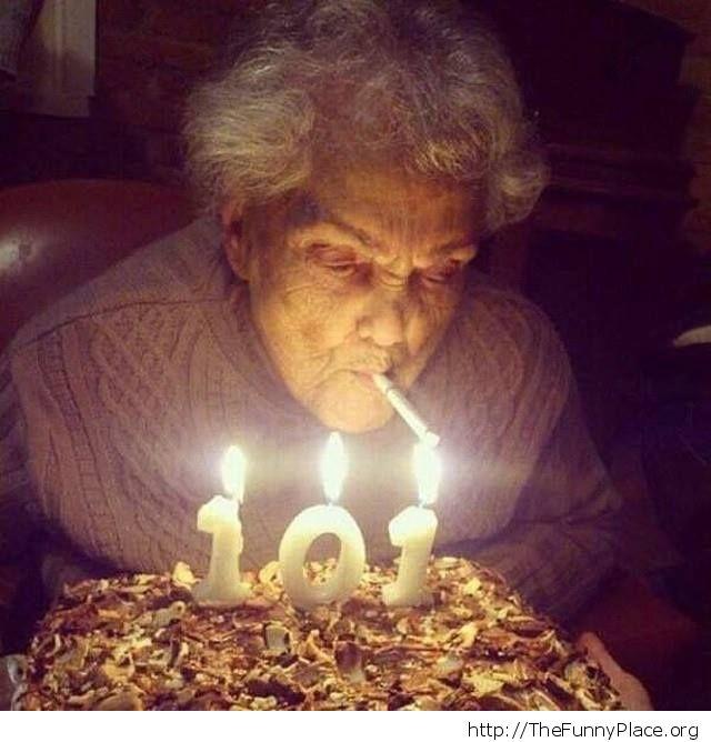 She's a strong grandma