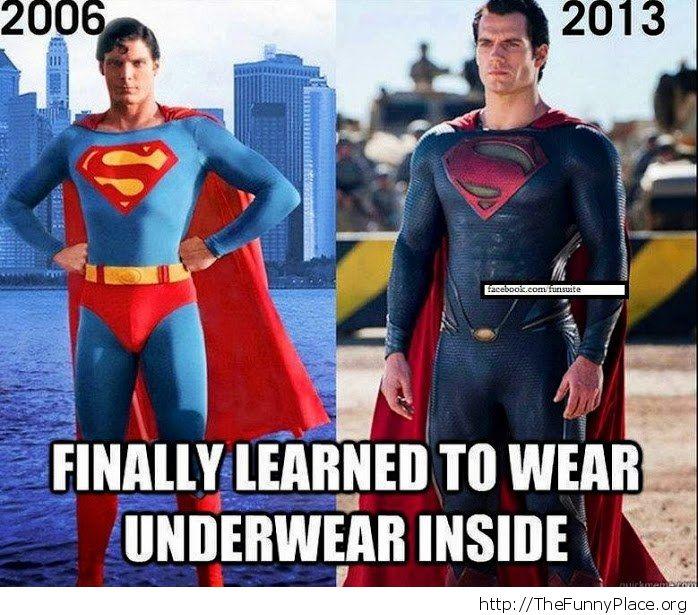 Superman in 2013