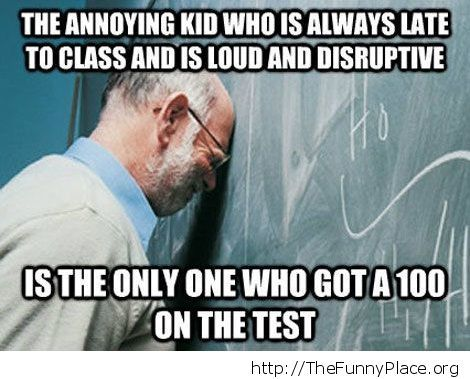 That annoying kid