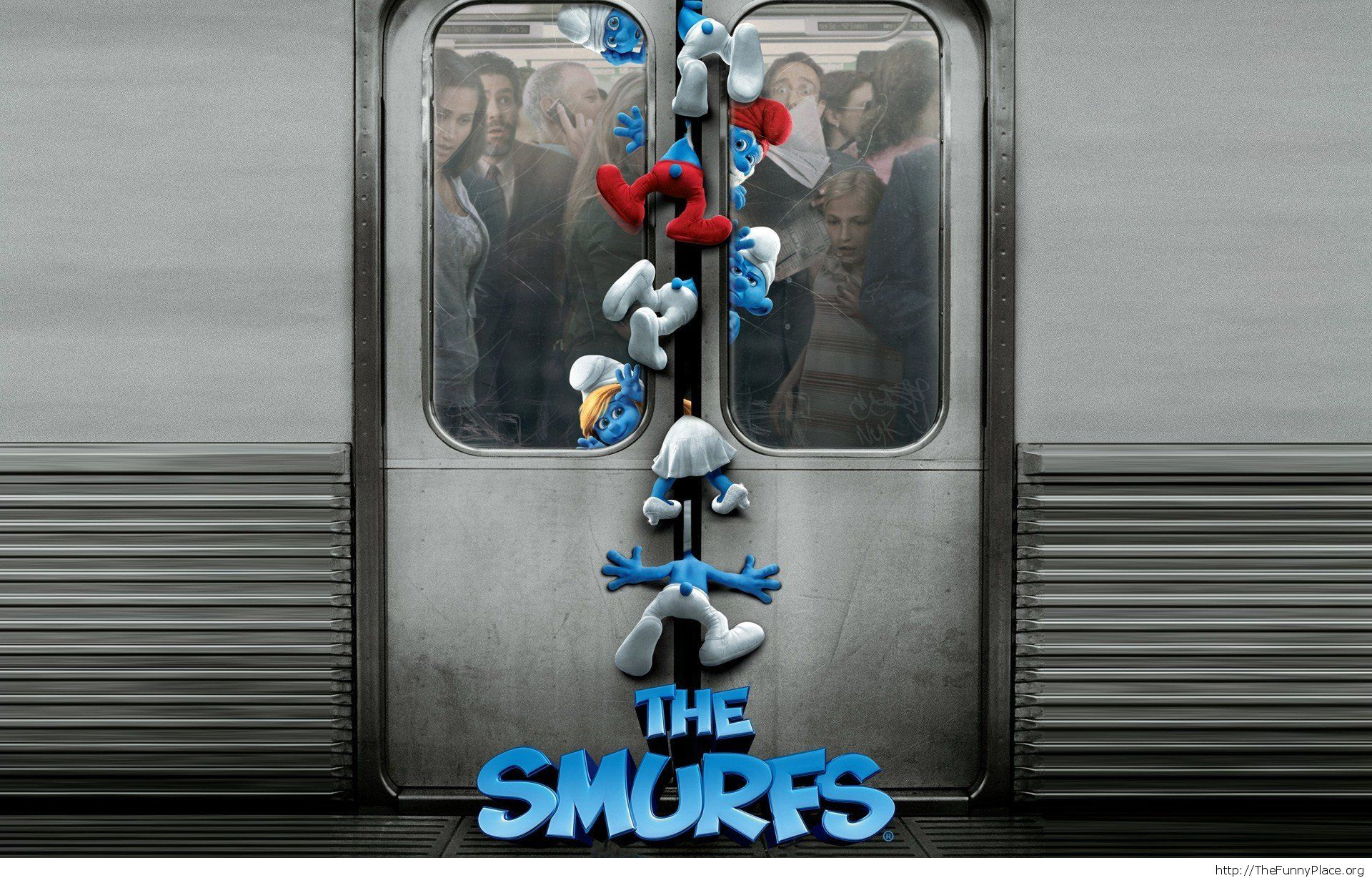 the smurfs funny wallpaper