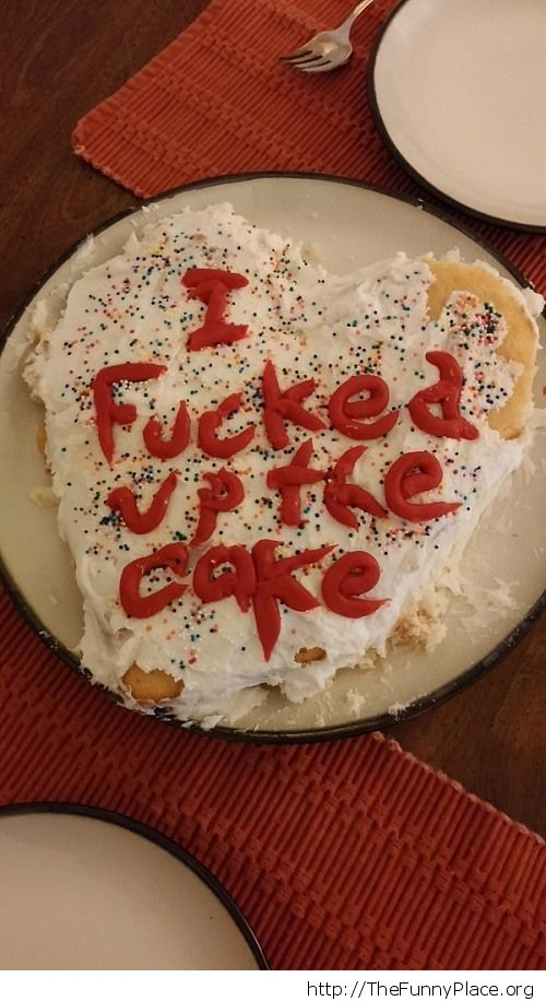 A cake for my girlfriend