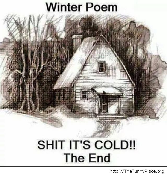 A winter poem
