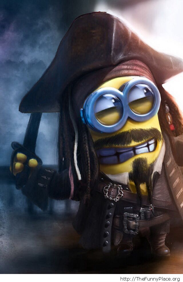 Caribbean Pirate Minion