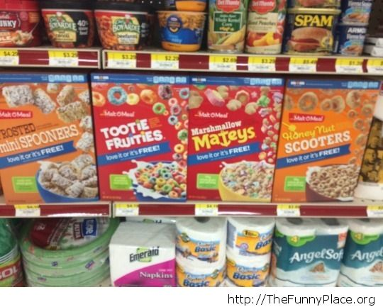 Cereal names