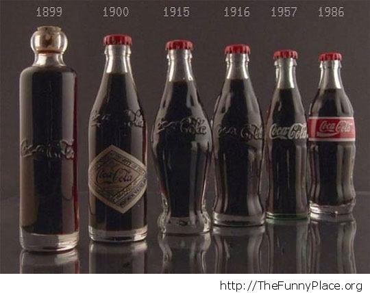 Coca cola back then