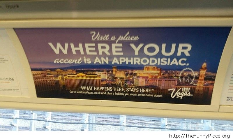 Cool advertisement in London