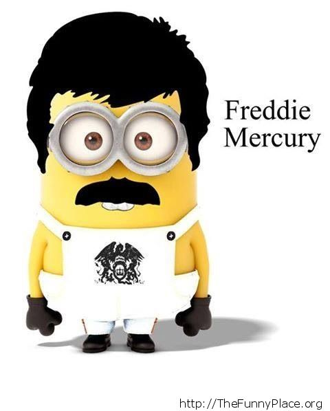 Freddie Mercury Minion