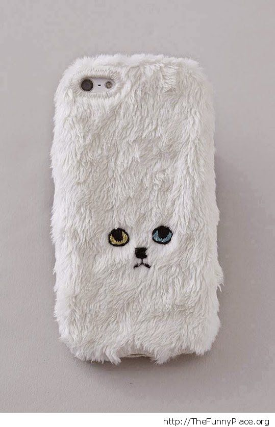 Funny kitty phone case