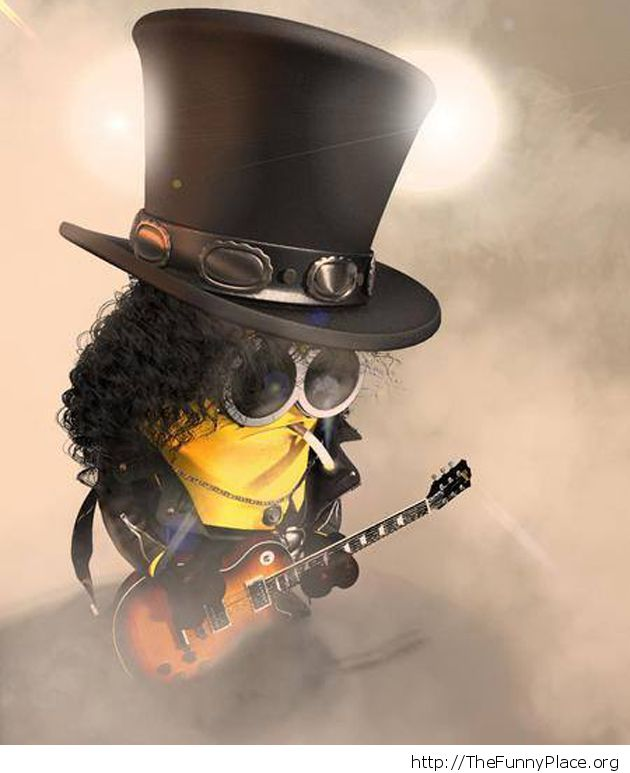 Slash Guitarist Minion