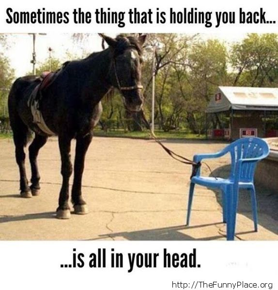 That one thing holding you back
