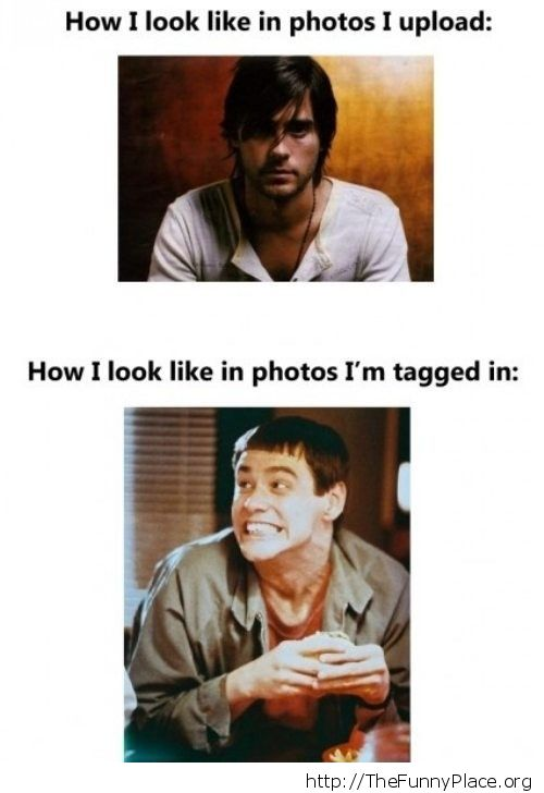 The photos I'm tagged in