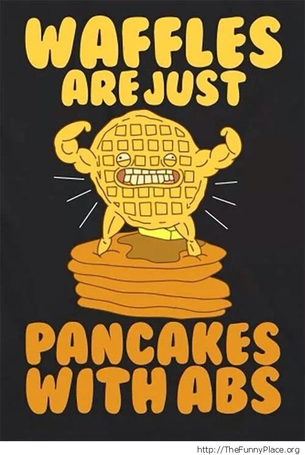 Waffles or pancakes