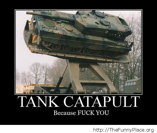 What a tank