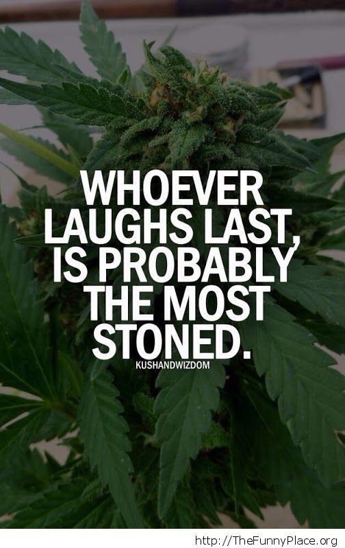 Whoever laughs last