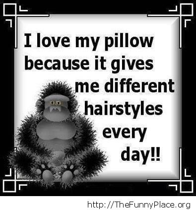 Why I love my pillow