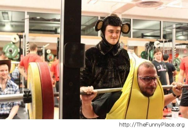 Make like a banana and split