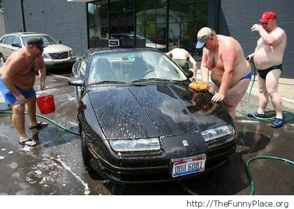 Sexy carwash for women