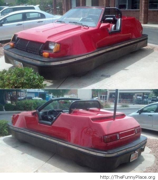 Unfender-bendable car