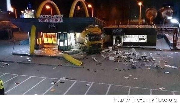 Literally drive through