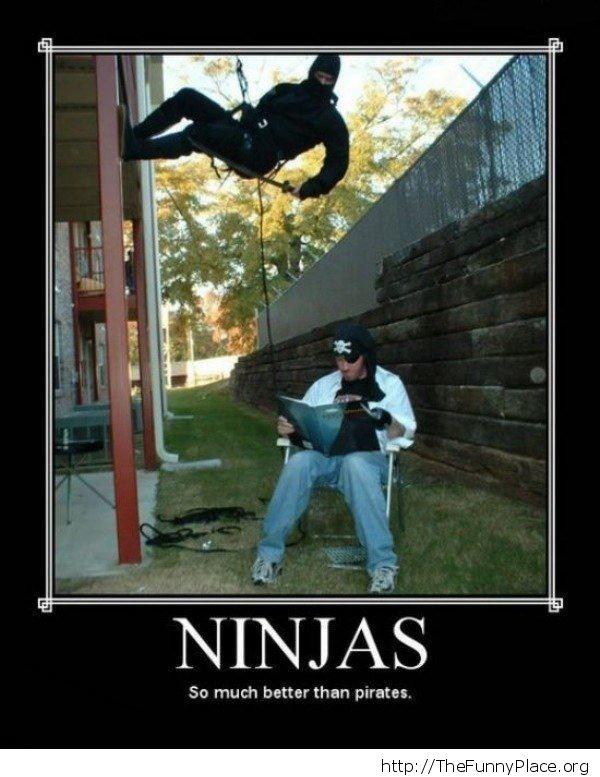 ninjas get shit done