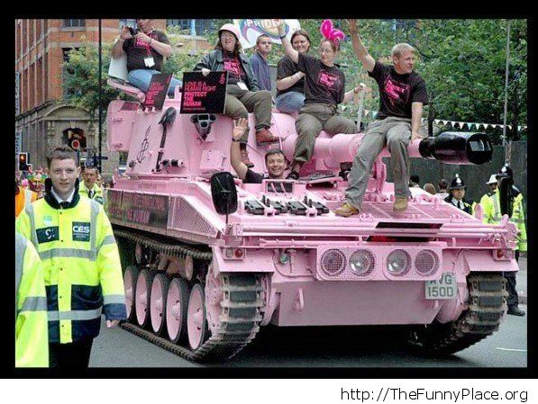 they got tanks