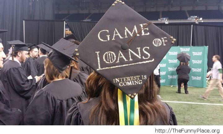 A graduate and his debts