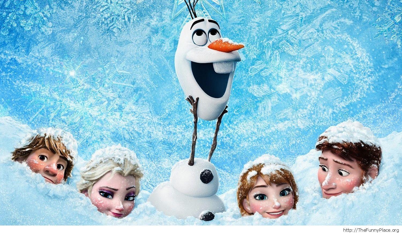 Anna Elsa Hans and Olaf