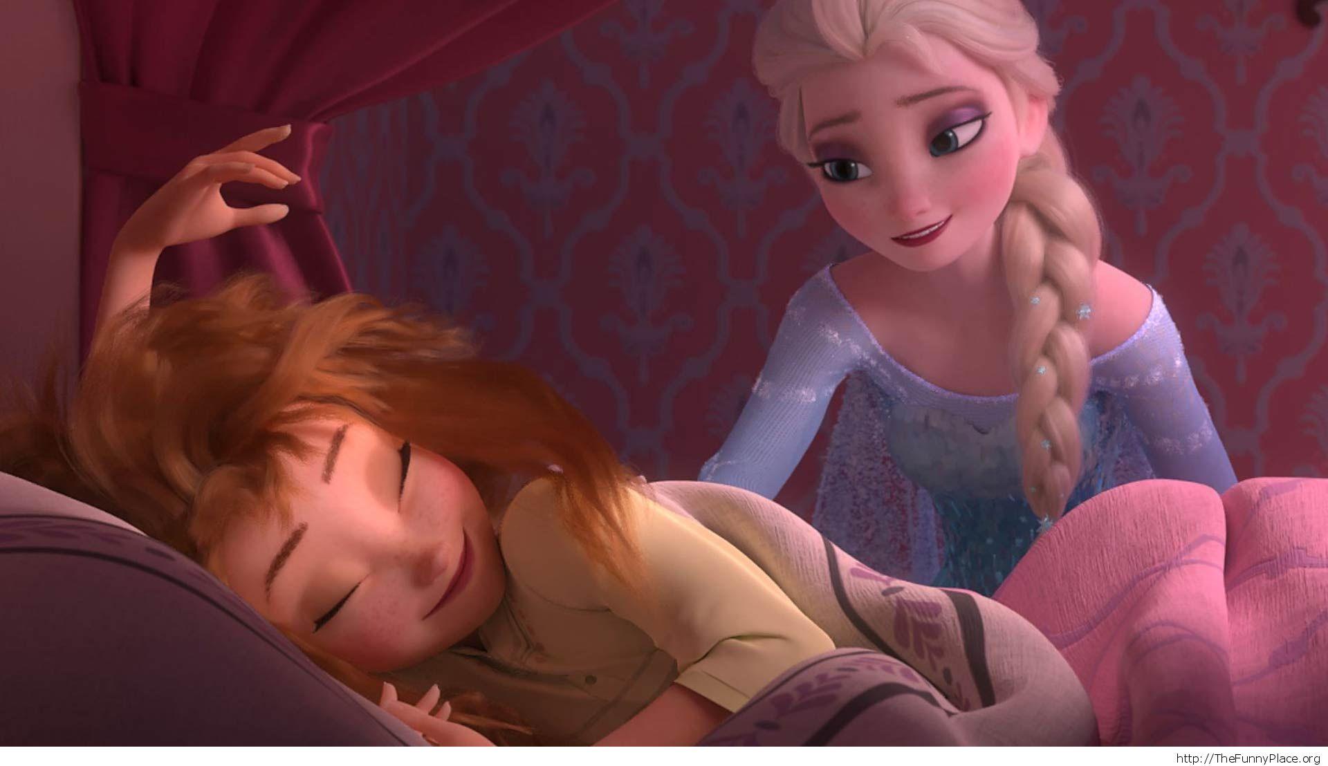 Anna Elsa wallpaper frozen disney