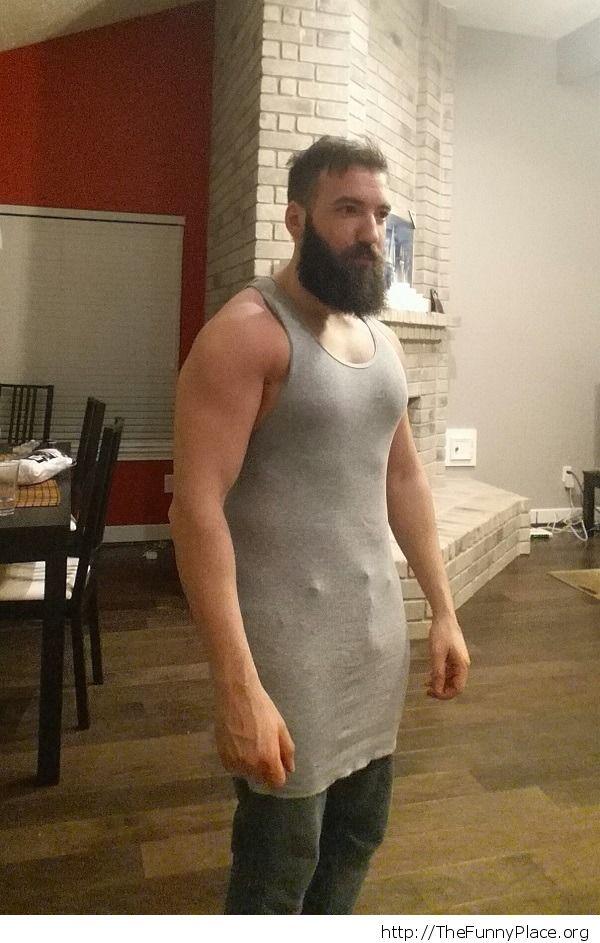 Bought XL tank tops from Walmart