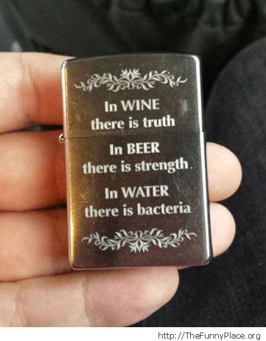 Cool engraved Zippo