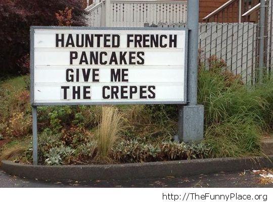 Crepes puns