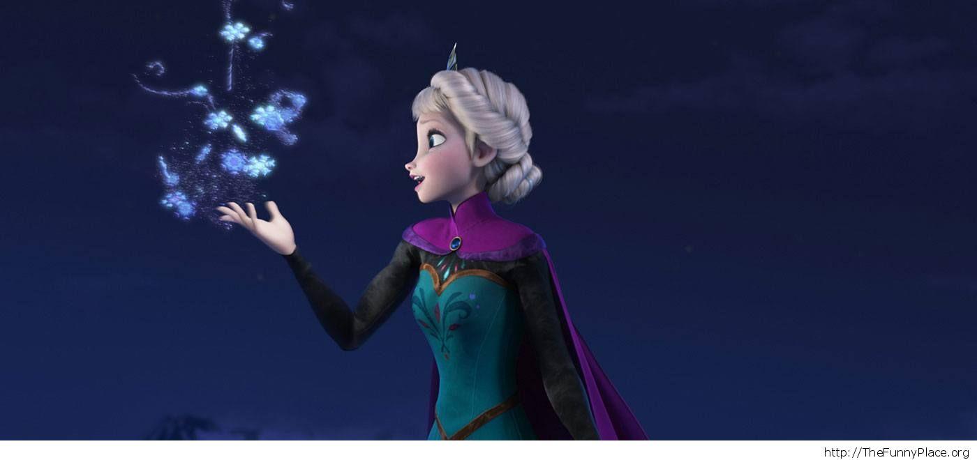 Elsa Disney Frozen  Image Wallpaper