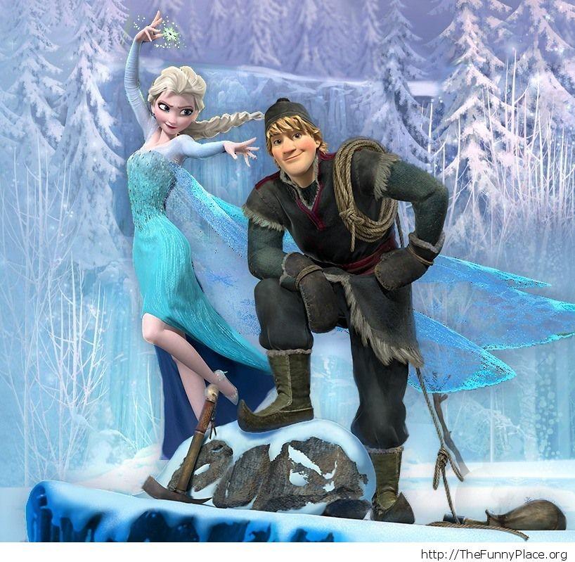 Elsa Kristoff Wallpaper Frozen