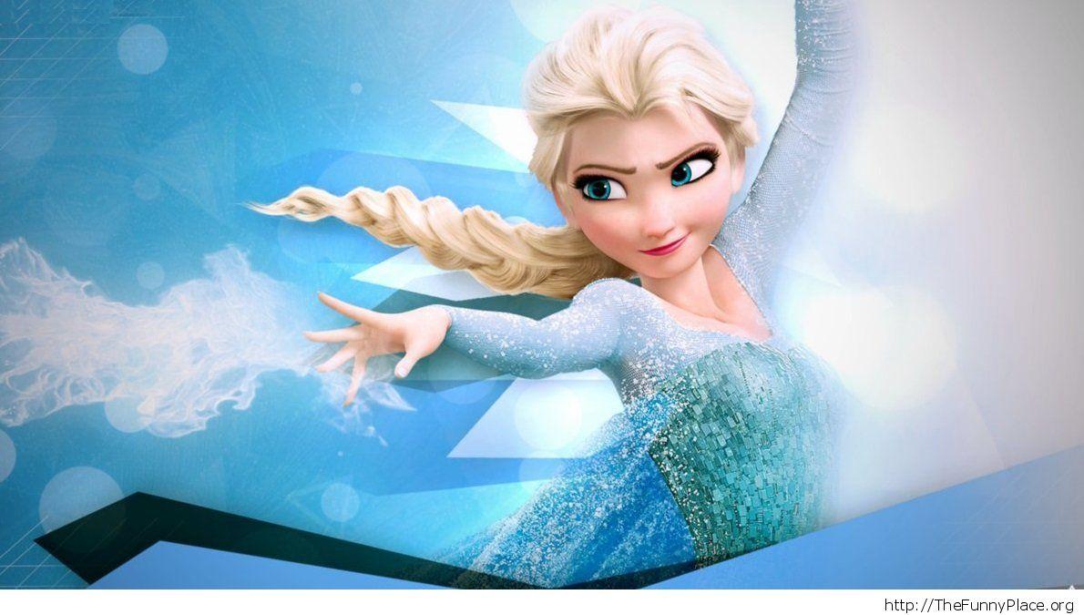 Elsa image Frozen wallpaper