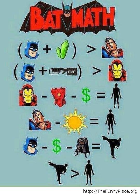 Funny Bat logic