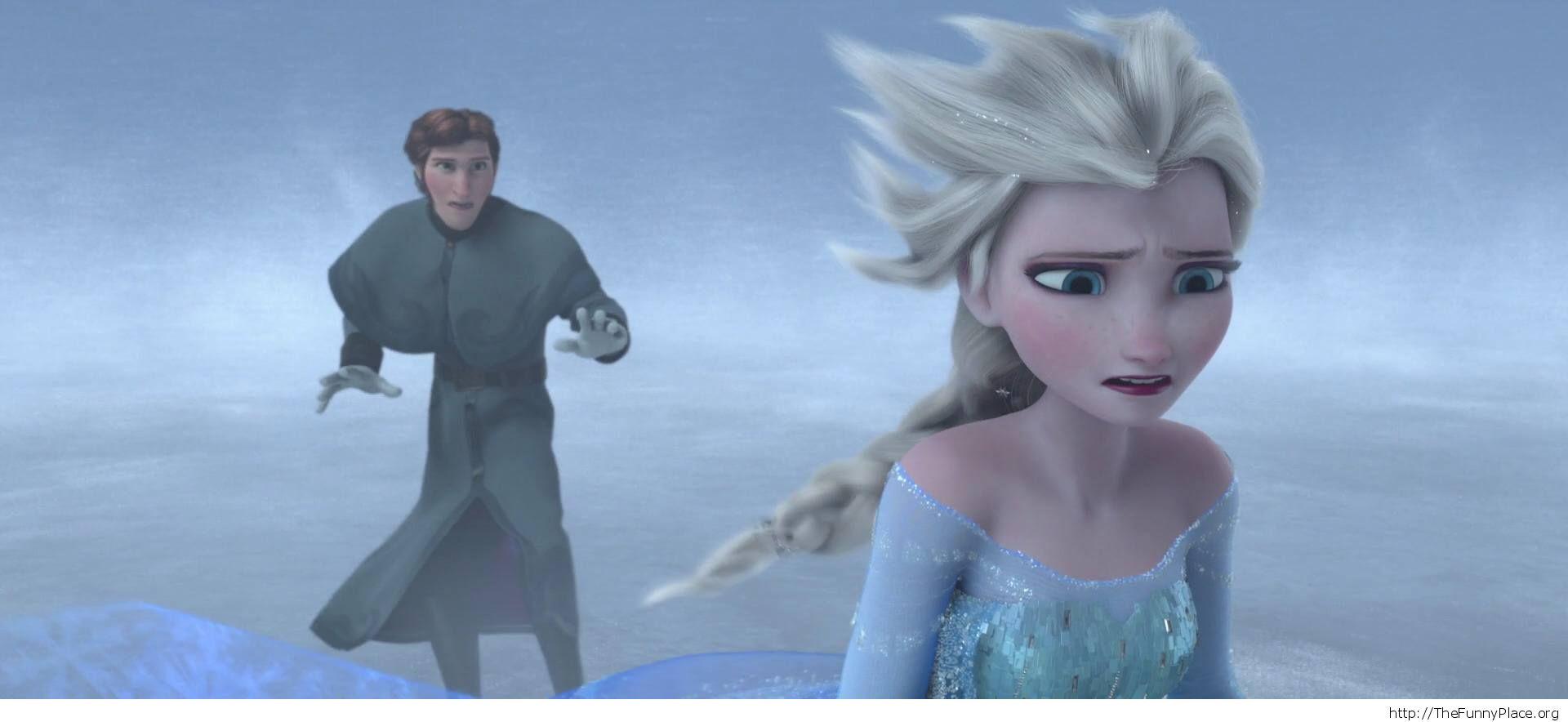 Hans Elsa Frozen wallpaper