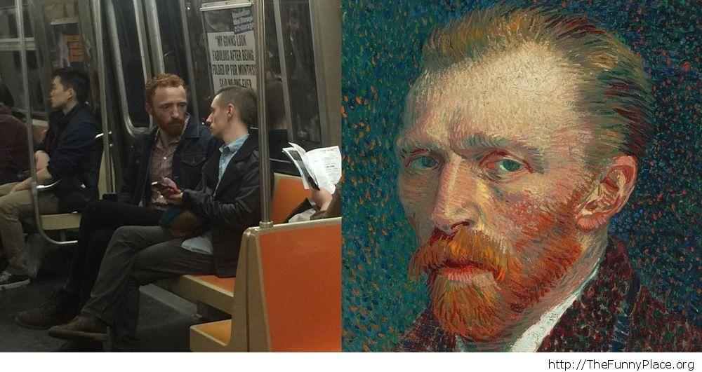 I Ran into Van Gogh
