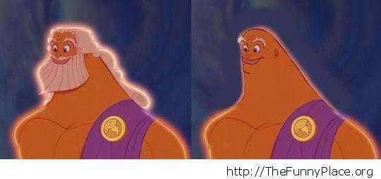 No beard Zeus