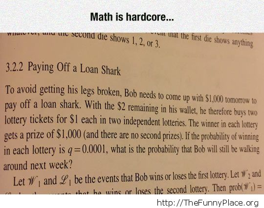 Remedial Math for Wise Guys