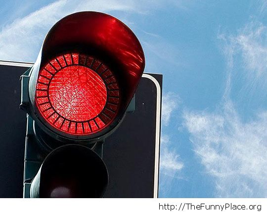 Smart red light
