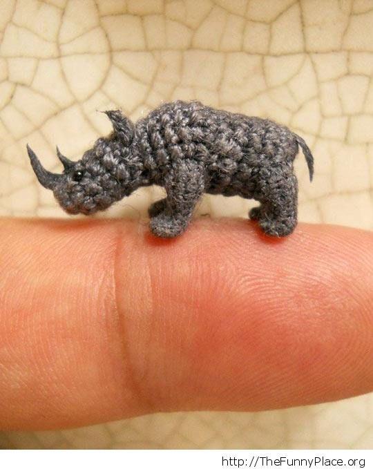 Tiny rhinos