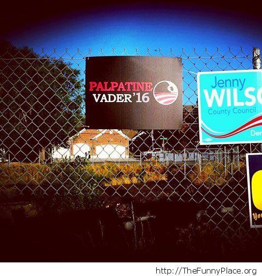 Vote for the dark side